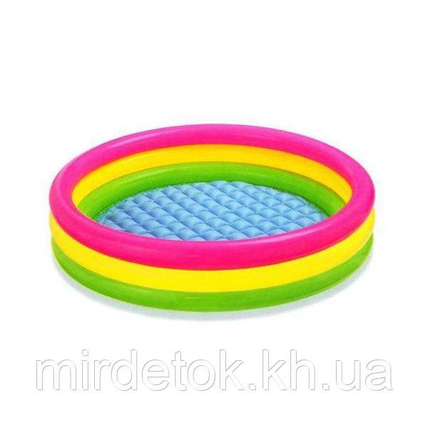 Детский надувной бассейн Intex 57412 Радуга