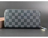 Женский кошелек в стиле Louis Vuitton (60017) grey, фото 1