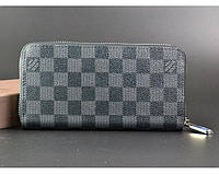 Мужской кошелек в стиле Louis Vuitton (60017) grey, фото 1