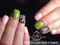Гель-лак Nice for you Professional 8,5 ml №003 - оливковый, фото 1