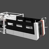 Лазерный резак высокой мощности с автоматической загрузкой и ограждением серии S-A