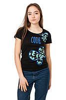 Женская футболка Code Original цвет черный размер 44 B23-1