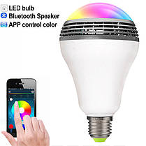Smart LED Lamp умная лампочка Bluetooth MP3 YY-001, фото 3