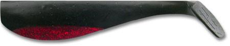 Виброхврост Big Hammer 3 Black Widow (50шт)