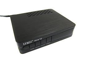 Тюнер DVB-T2 UKC 7810 YouTube с возможностью подключить Wi-Fi, фото 2