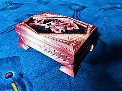 Скриня різьблена подарункова, фото 2