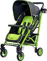 Прогулочная коляска  Sonata Caretero - Польша - удобный механизм складывания Зеленый