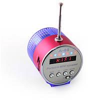 Мини бумбокс А-88, с цифровым FM радио, с Mp3 плеером