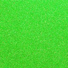 Фоамиран з глітером 2 мм, 20x30 см, Китай, СВІТЛО-ЗЕЛЕНИЙ