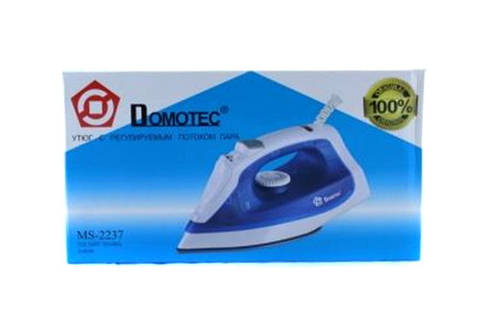Утюг Domotec MS 2237 2000W тефлоновая подошва, фото 2