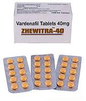 Левитра - варденафил 40 мг - Жевитра 40 (ZHEWITRA 40) - 10 таблеток