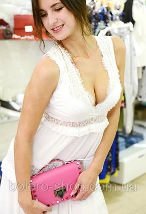 Женское платье летнее длинное  белое брендовое Италия , фото 3