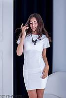 Жіноче літнє біле плаття-міні York