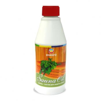 Eskaro Sauna Oil 0,7 л - Масло для захисту банних полків