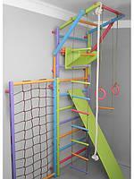 Шведская лестница модульная цветная Три Енота