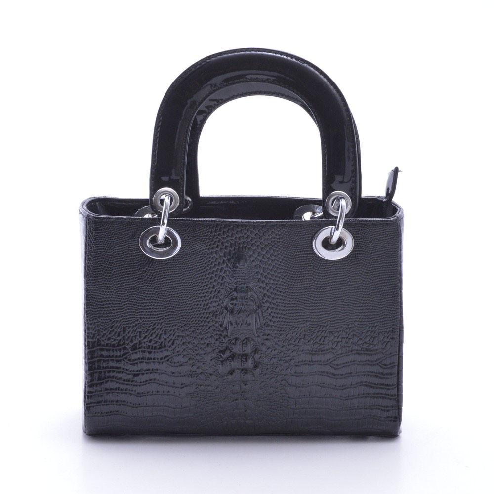 Женская сумка Dior mini крокодил