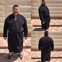 Мужской махровый халат размер 5XL