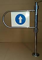 Входной механический турникет правый 100х64 бу, фото 1