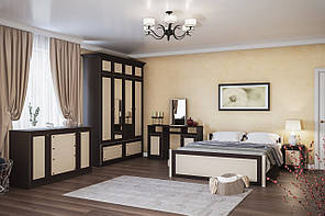 Спальня Лотос від Світ Меблів (світлий\темний венге)