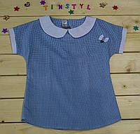 Нарядная блузка  для девочки на рост 128-140 см, фото 1