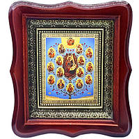 Фигурная икона Древо Богородицы