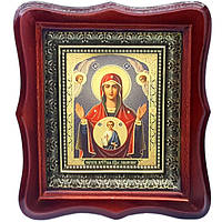 Фигурная икона Знамение