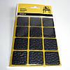 Прорезиненные мебельные подкладки самоклеящиеся (чёрные).