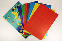Цветная бумага и картон А4 (9 и 9) ZiBi