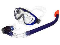 Набор для плавания маска + трубка Speedo , фото 1