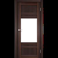 Дверь межкомнатная TIVOLI орех сатин белый