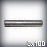Штифт 5х100 ГОСТ 3129-70 (DIN 1, ISO 2339) конический стальной