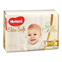Подгузники Huggies Elite Soft 3, 5-9 кг 80 шт.
