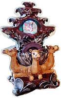 Фонтан декоративный комнатный Водопад 3-и верблюда с множественными веерными каскадами 9902 Размер 28=18=13