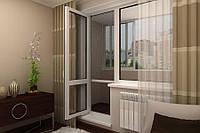 Балконные металлопластиковые двери