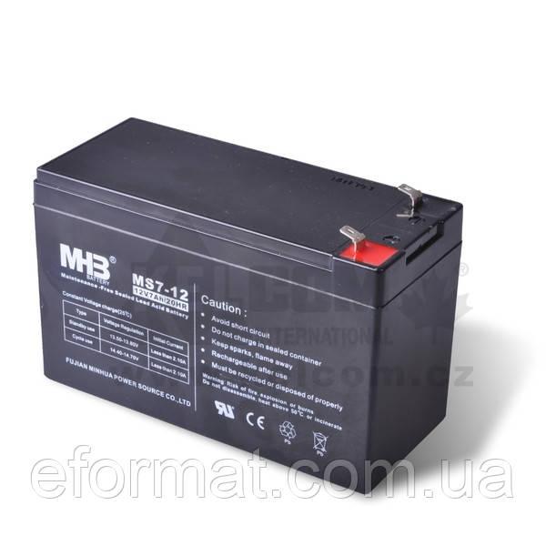 Аккумуляторная батарея гелевая MHB battery 12В 28 А/ч