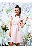 платье женское с рюшами  (42-46) , доставка по Украине