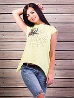 Женская футболка Паучок p.42-48 VM1861-1