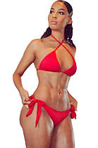 Красный купальник бикини, фото 2