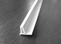 Вставка заглушка декоративная для натяжного потолка А1 (ширина 9 мм, матовая, 2 зуба)