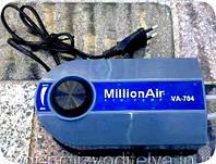 Компрессор для дымогенератора 2-х канальный Million Air VA - 704