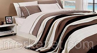 """Постельные комплекты """"мокко"""". Набор для спальни: плед и постельное белье"""