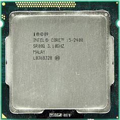 Процессор intel core i5 (2400) сокет 1155 (4 ядра по 3,1 Ггц)