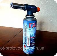 Газовая горелка для дымогенератора (резак, паяльник )VITA, туристическая, под балон 220мл, фото 1