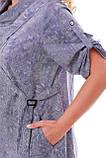 Платье женское Берта коттон варенка, фото 5