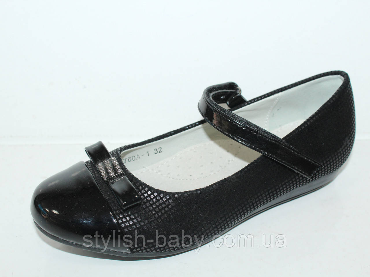 Школьная обувь оптом. Детские туфли бренда Lilin Shoes для девочек (рр. с 32 по 37)