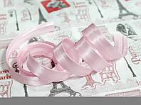Косая бейка атласная 1,5см. светло- розовая