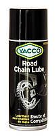 Водонепроницаемая смазка для цепей мотоциклов YACCO ROAD CHAIN LUBE (400 мл.)