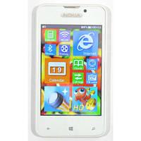 Сенсорный телефон Nokia H990  2 сим, 4 дюйма+ЧЕХОЛ.