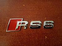 3D эмблема  RS6 - Цвет красный