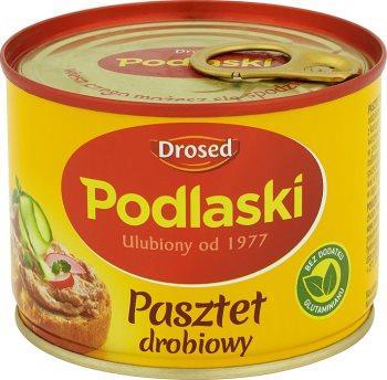 Паштет Drosed Podlaski куриный 195г